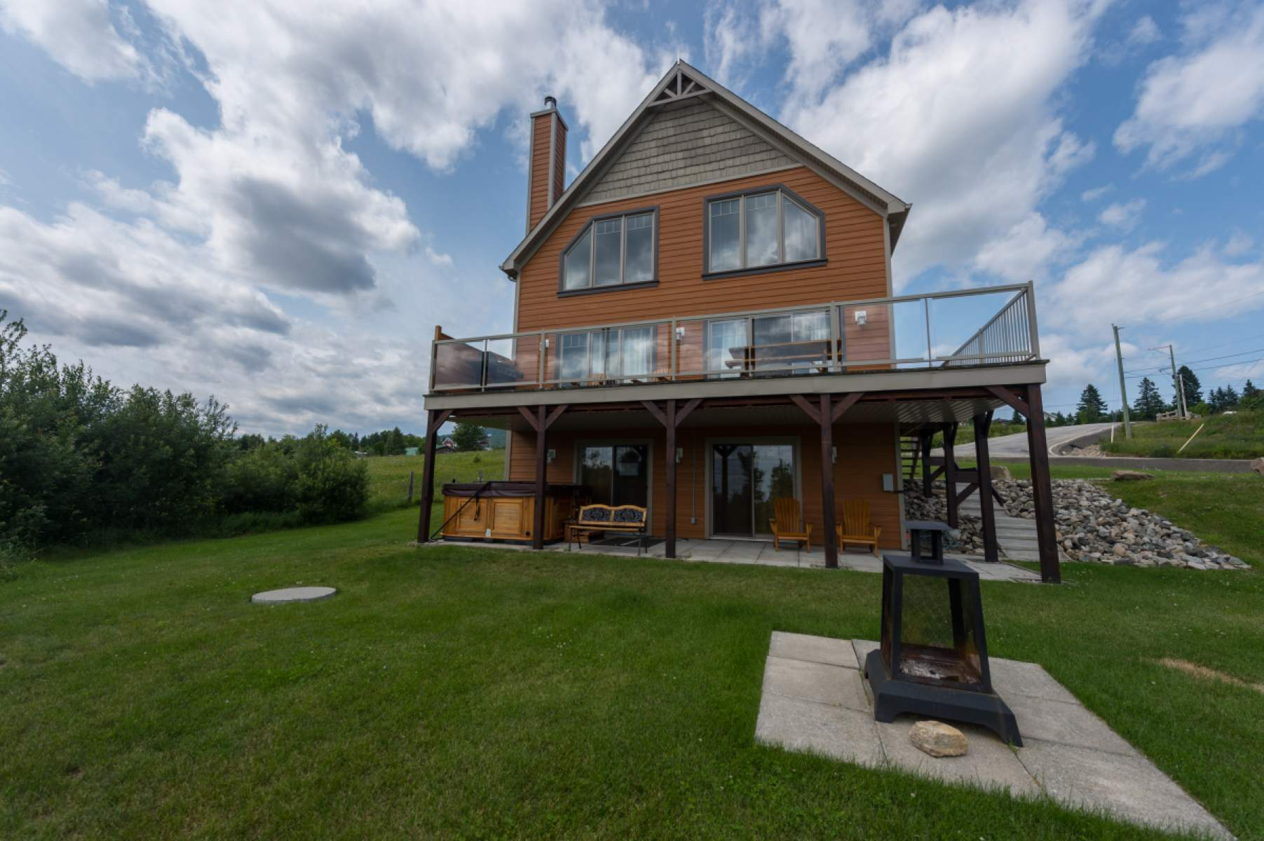 chalets cottages maryse rental rentals at the st en welcome to francois riviere petite charlevoix le cottage
