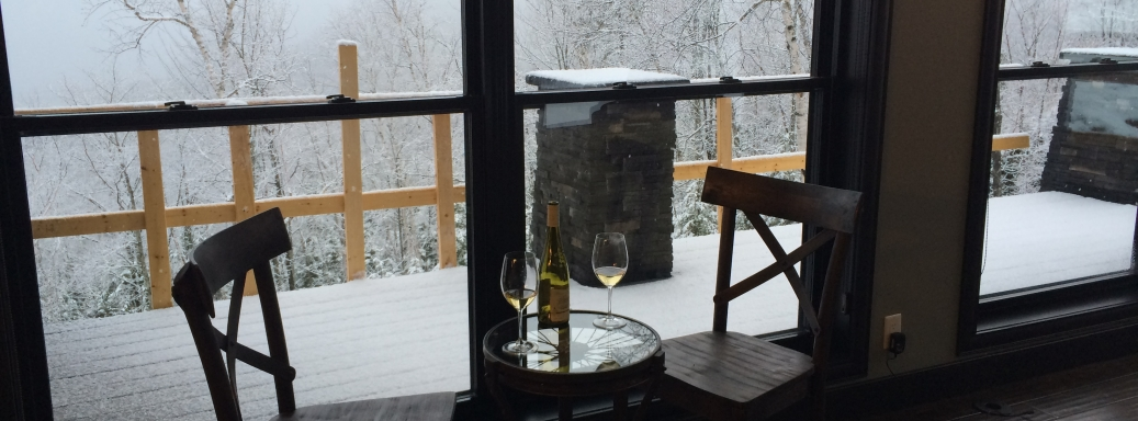 At Ilaali in the Versant du Massif of Charlevoix, there is nothing to worry!